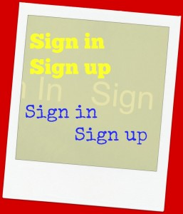 sign in sign up for sites